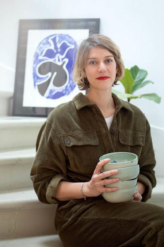 Portrait Sarah Boyeldieu - Pépinière Sainte-Croix