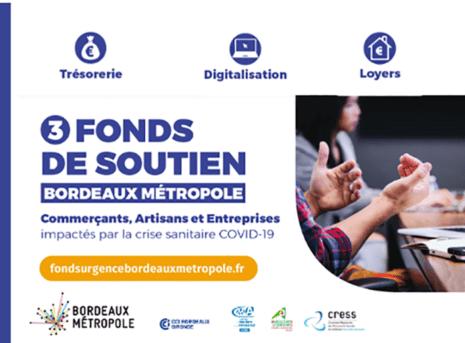 Fonds de soutien Bordeaux Metropole