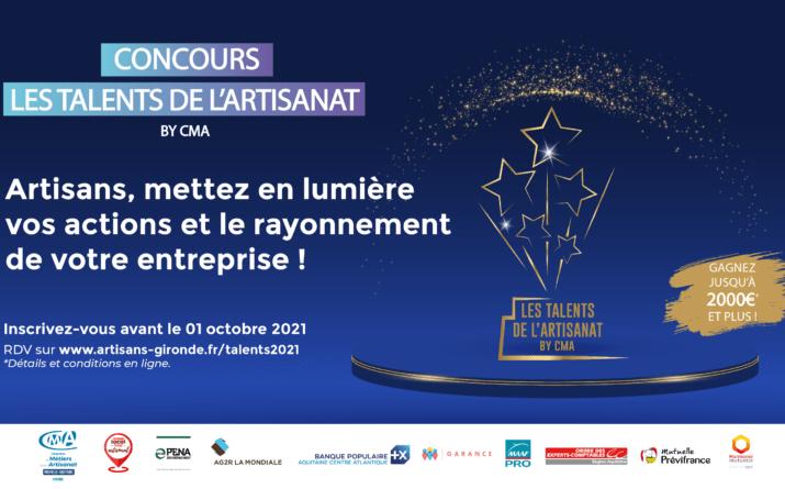 Concours Les Talents by CMA 2021